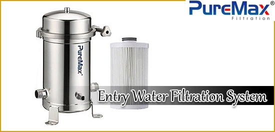 entry water filtration system