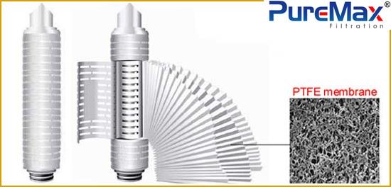 PTFE filter cartridges