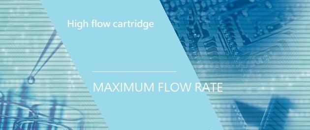 High flow cartridge